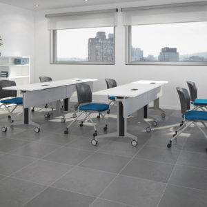 Genius Training Tables with Flashback Chairs